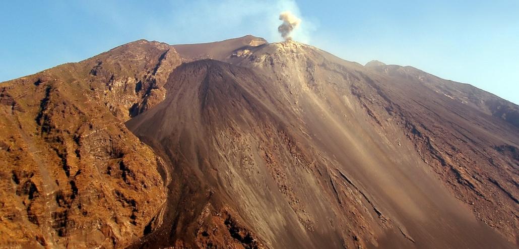 Aeolian Islands eruption