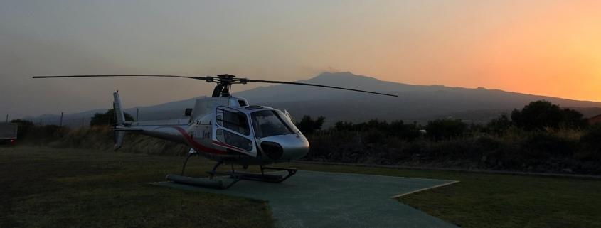 Aeolian Islands helicopter