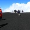 Crossing Etna ash