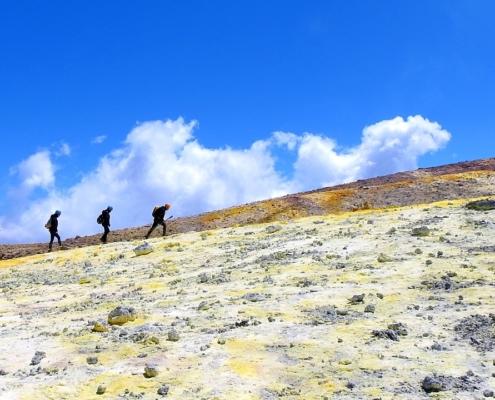 escursione cima etna