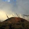 Sunset Etna crater