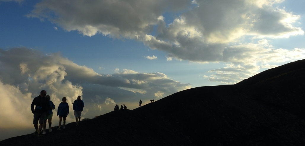 Sunset Etna hike