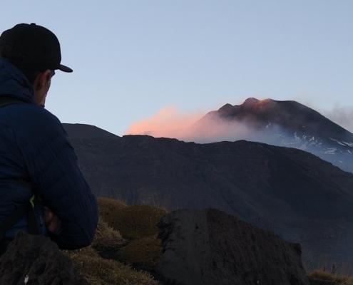 Sunset Etna panorama