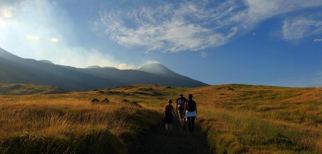 Sunset Etna trek