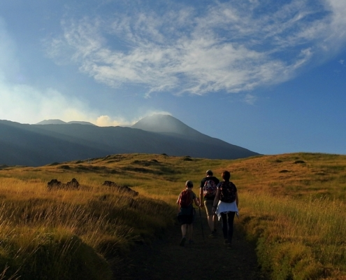 Sunset Etna trek