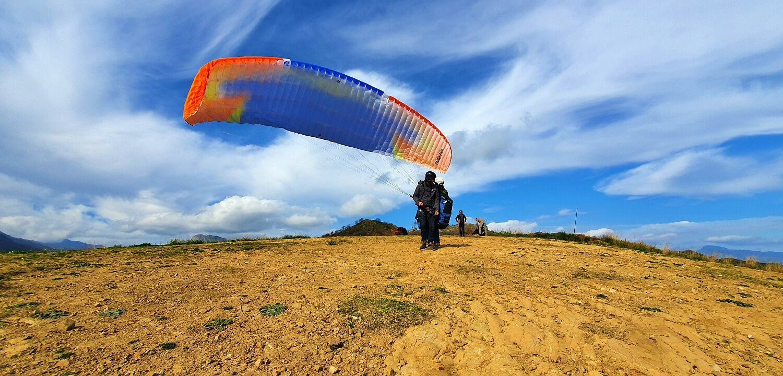 fly paragliding sicily