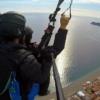 paragliding taormina