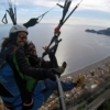 tandem paragliding in sicily