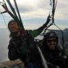 tandem paragliding sicily