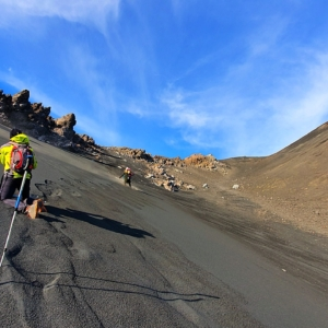 Hiking Mount Etna