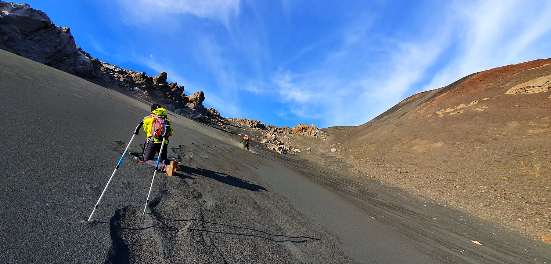 Hiking Mount Etna walking tour