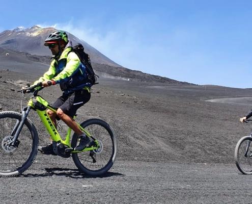 e-bike etna tour