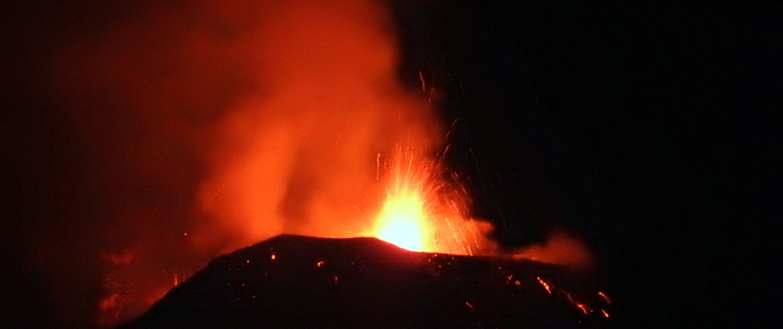 Fantastica eruzione etna