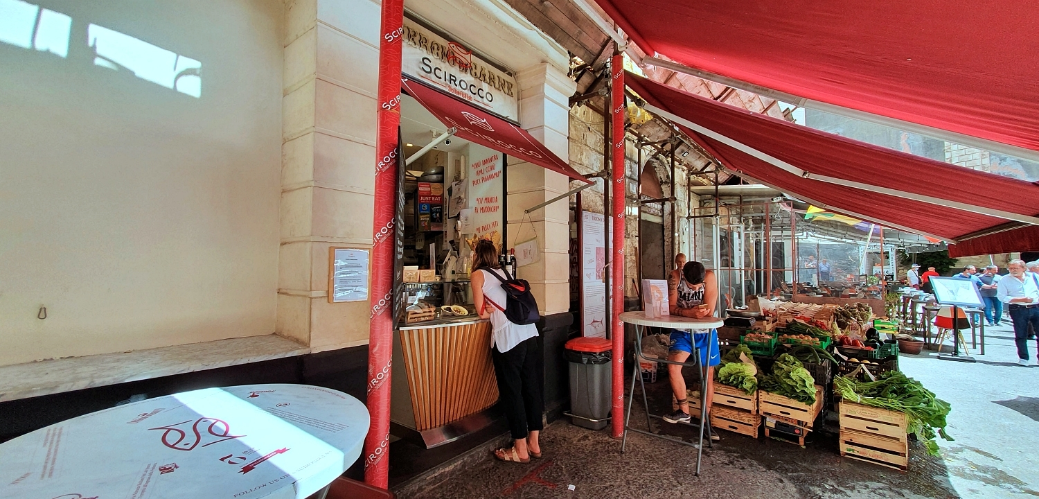 Excursion gastronomique à Catane