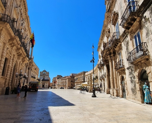 syracuse walking tour sicily