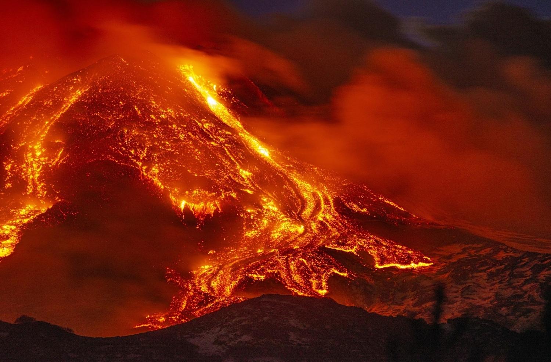 Mount Etna eruption February 2021