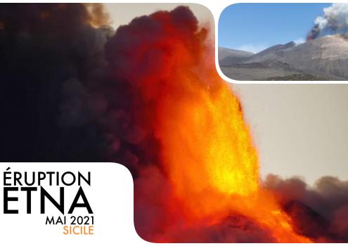 éruption etna mai 2021