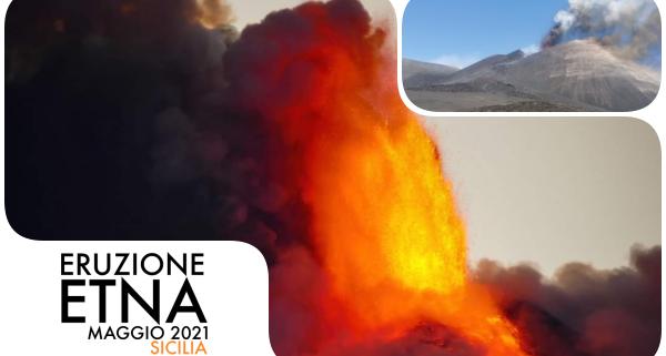 eruzione etna maggio 2021